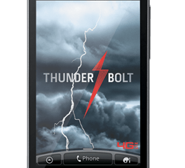 Verizon's new Thunderbolt smartphone by HTC.