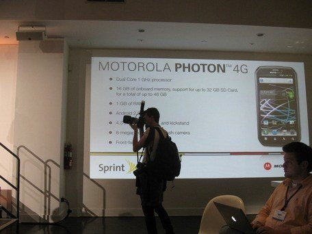 Photon Sprint and Motorola bring HOTNESS to NY...and not just 94° record Heat!