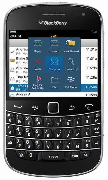 Bold 9930 America's First BlackBerry 7 Smartphones Coming to Sprint This Fall