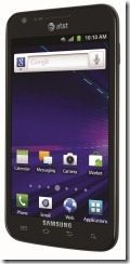 ATT SGH i727 Black left thumb AT&T Announces their Galaxy S II   Skyrockets in Flight!