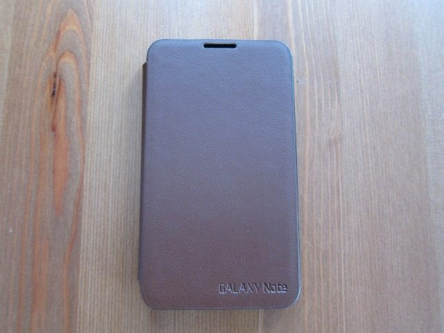 GalaxyNoteCasereviewpart214 Custom thumb Samsung Galaxy Note Flip Cover and Leather Pouch Case Review