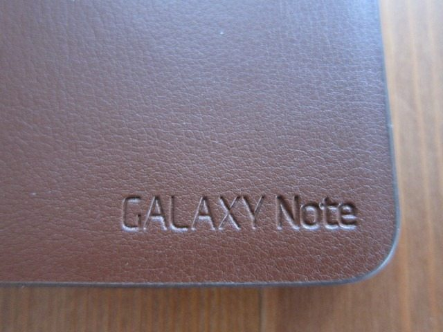 GalaxyNoteCasereviewpart216 Custom thumb Samsung Galaxy Note Flip Cover and Leather Pouch Case Review