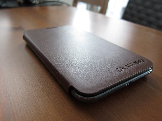 GalaxyNoteCasereviewpart217 Custom thumb Samsung Galaxy Note Flip Cover and Leather Pouch Case Review