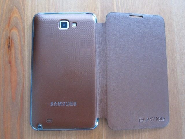 GalaxyNoteCasereviewpart219 Custom thumb Samsung Galaxy Note Flip Cover and Leather Pouch Case Review