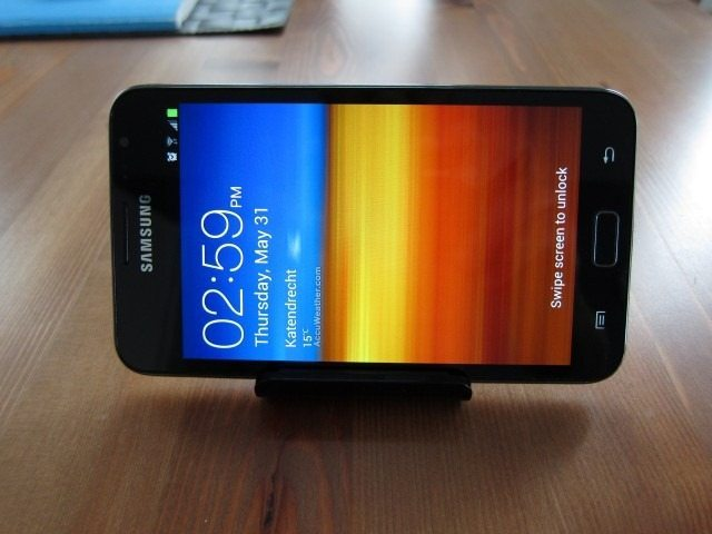 NoteHolderCharger20 thumb Samsung Galaxy Note Holder and Battery Charger Review