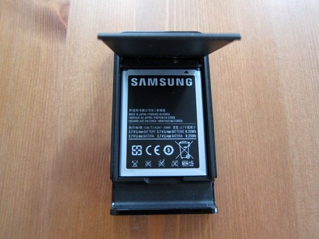 NoteHolderCharger2 thumb Samsung Galaxy Note Holder and Battery Charger Review