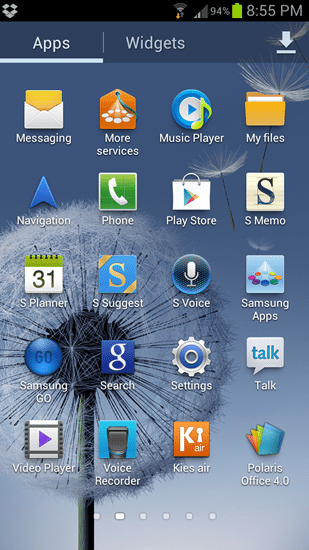 Galaxy Nexus and SIII Review software (3)