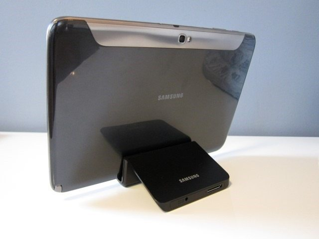 Galaxy Note 10.1 DDock review 19 thumb Samsung Galaxy Note 10.1 Desktop Dock Review