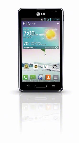 LG Optimus F3 LS720 Silver PVF
