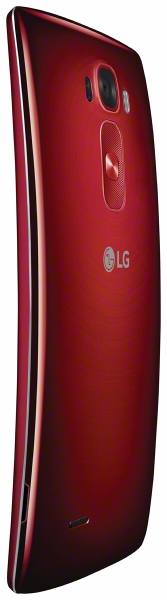 LG G Flex 2 Red Back Left Angle