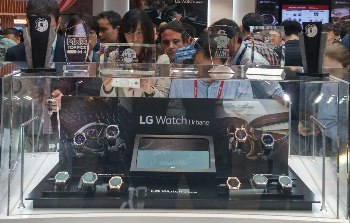 LG Watch Urbane Series Booth