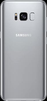 Galaxy S8 in Arctic silver