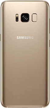 Galaxy S8 in Maple gold