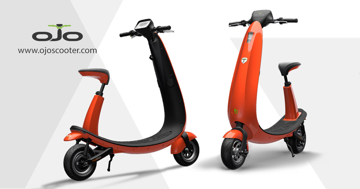 Best Electric Scooter For Commuting >> OjO Electric Scooter | Fun, Fast and Clean Commuting - GadgetNutz
