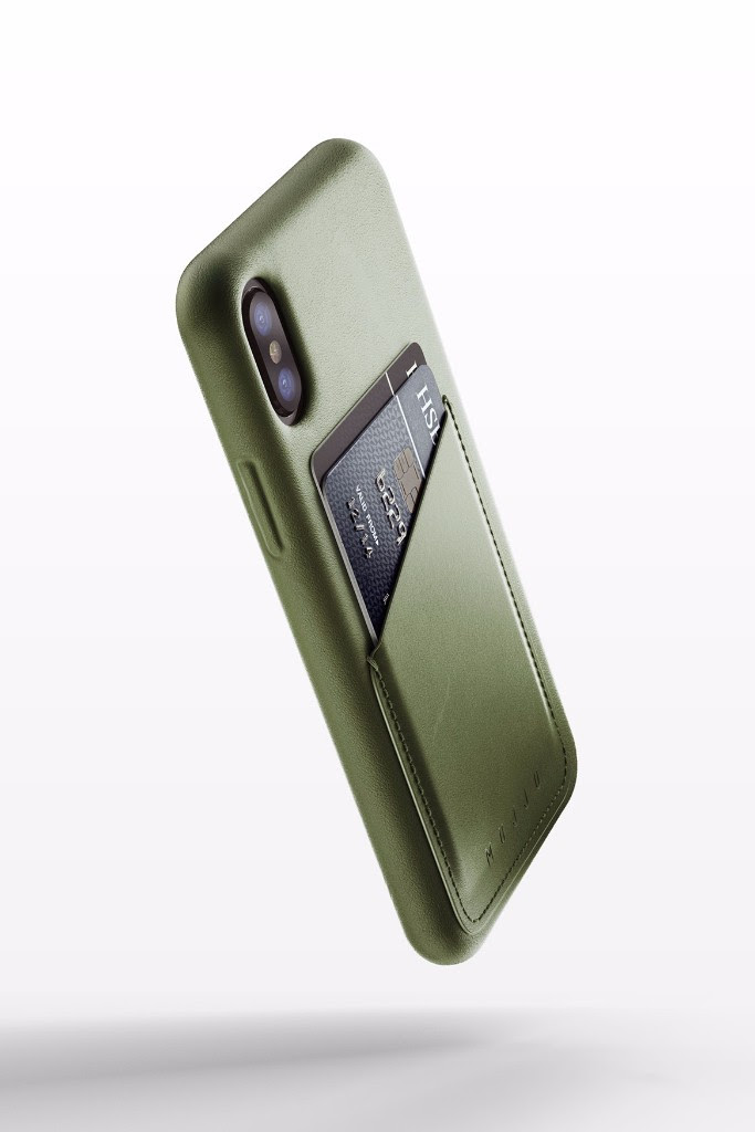 detailed look 4c110 badff Mujjo Adds a new Olive Case to their stunning iPhone X line - GadgetNutz