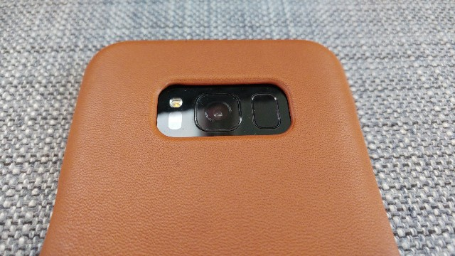 premium selection f3b25 d52c0 Mujjo Leather Case for Galaxy S8+ Review - GadgetNutz