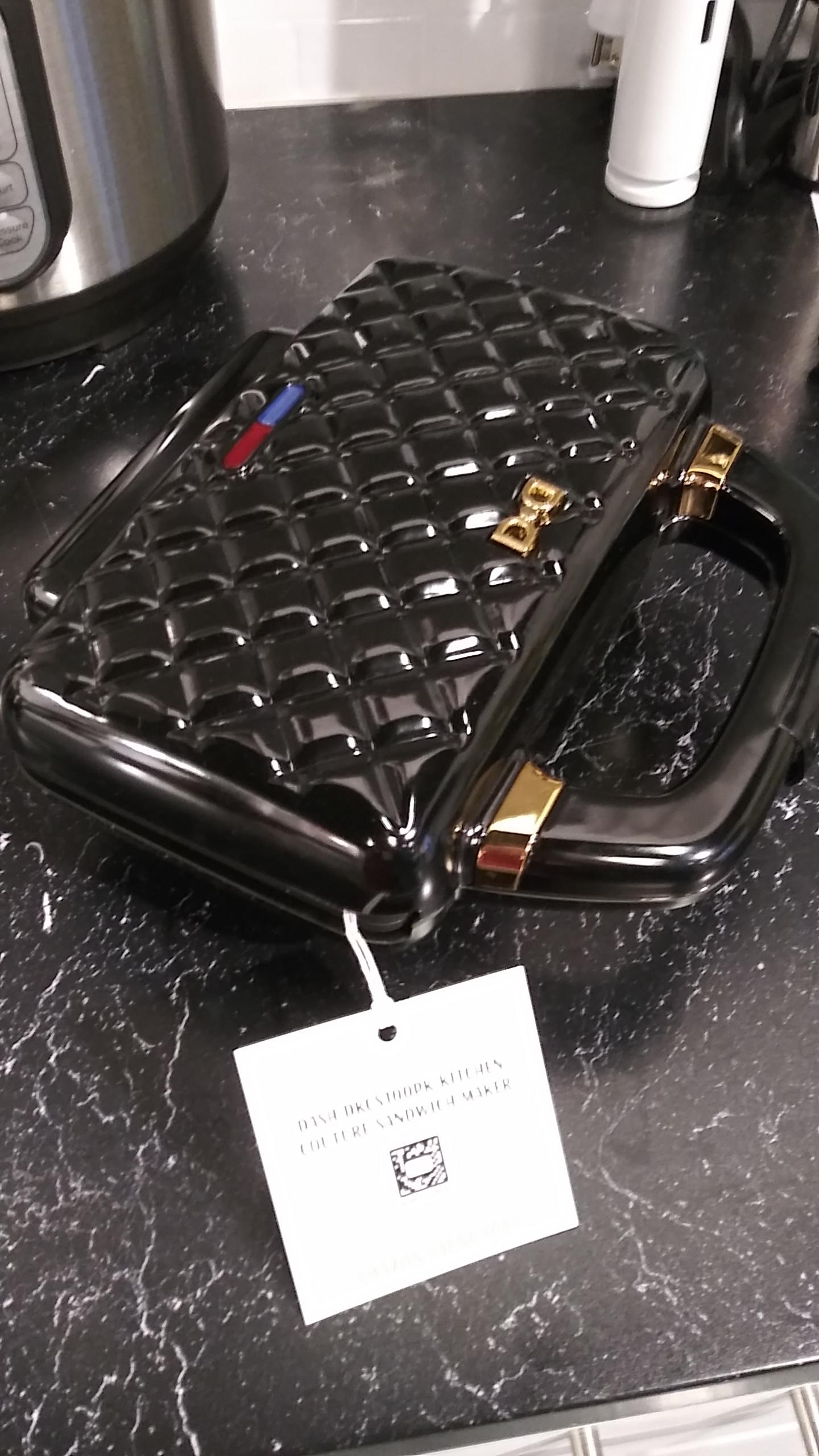 handbag waffle iron