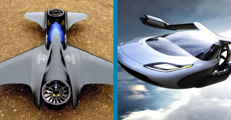 11 Real World Flying Car Projects Gadgetnutz