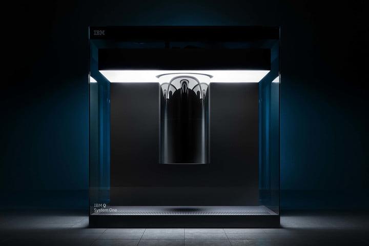 ibm quantum computing ces 2019 q system one header