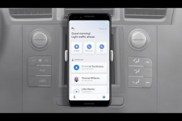 Google Assistant's driving mode