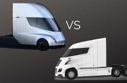 Tesla Semi vs Nikola Two