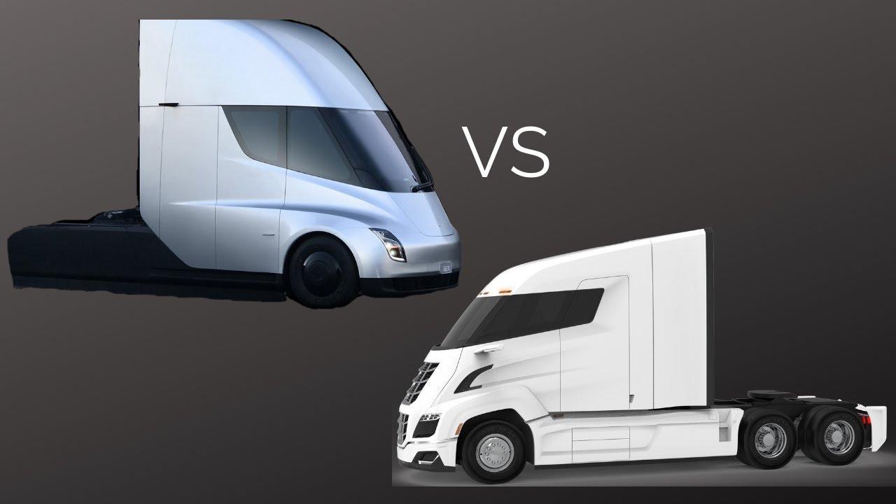 Tesla Semi vs Nikola Two