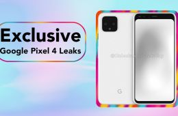 Google Pixel 4 Leaks: Exclusive 360 Renders