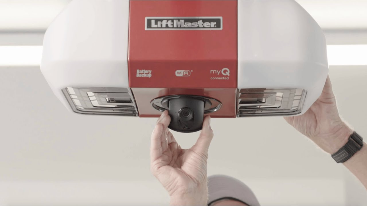 LiftMaster Secure View Smart Garage Door Opener